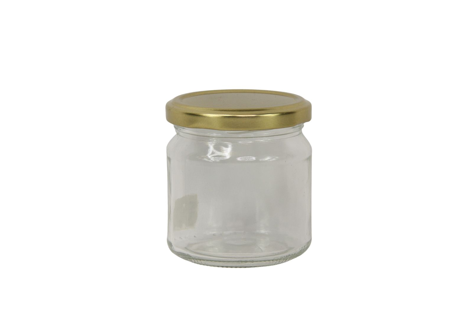 Honigglas 0,25kg glatt inkl. Deckel