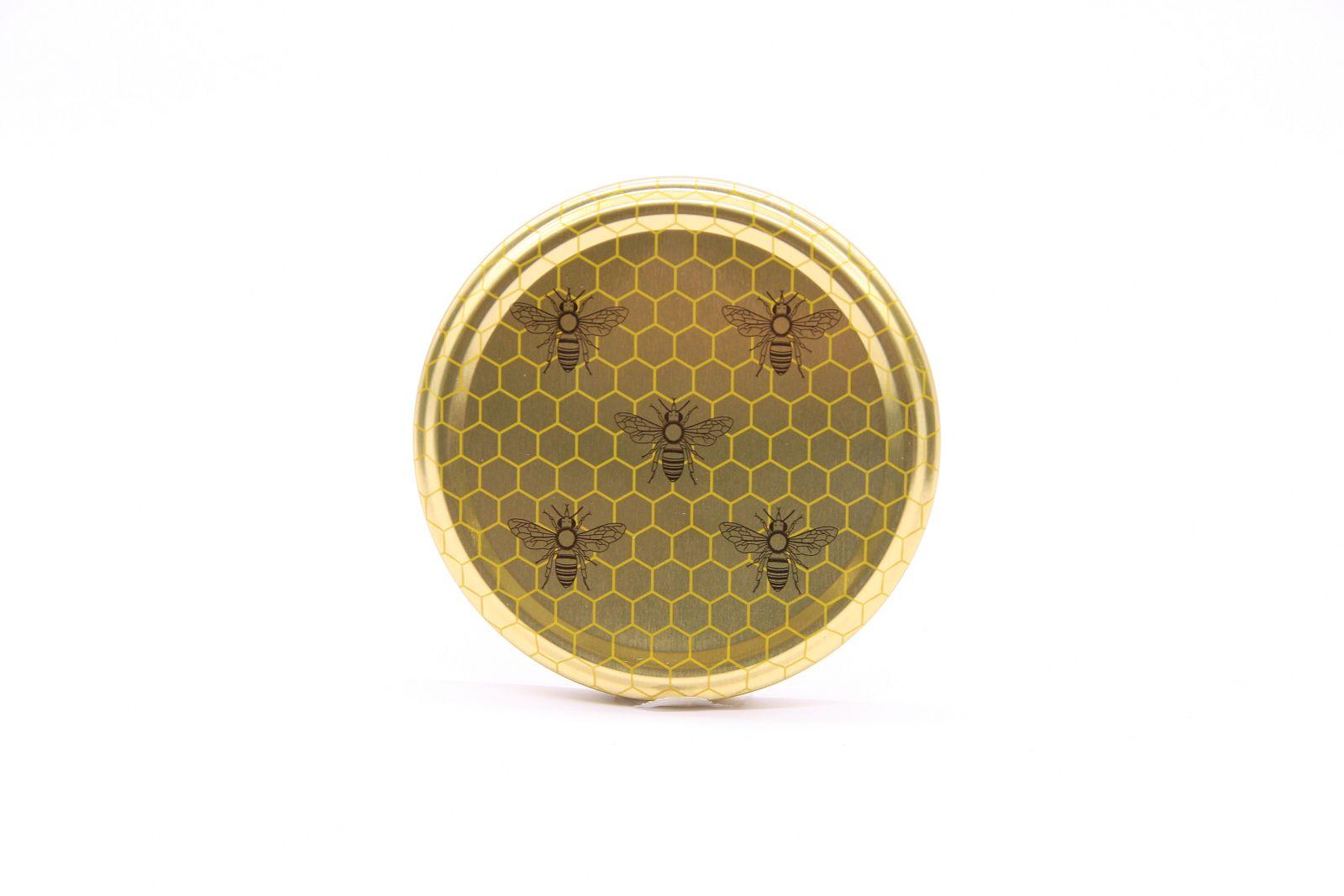 5 Bienen TO-Verschluss