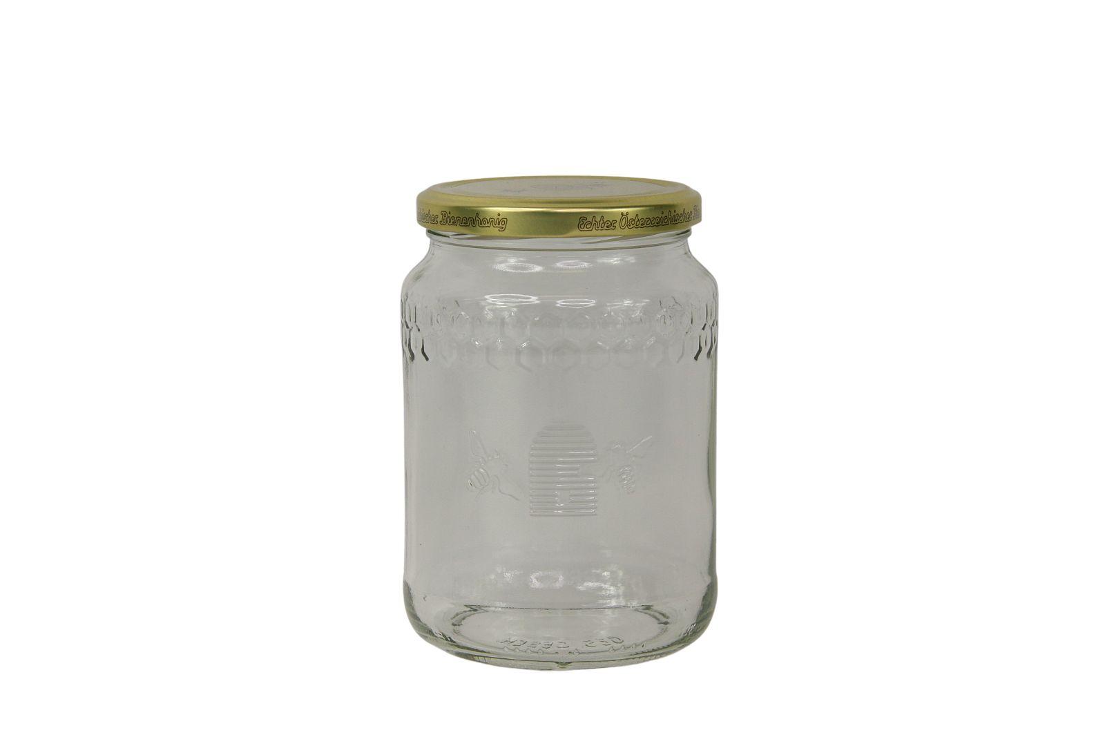 Honigglas 1kg ÖIB inkl. Deckel
